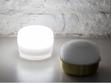 LED polyurethane gel table lamp with USB charging cordless EVA