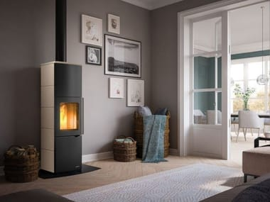 Wood-burning stove with Thermal Accumulation Class A EVA S | Stove with Thermal Accumulation