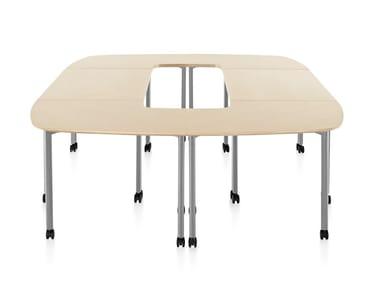 Modular meeting table EVERYWHERE   Modular meeting table