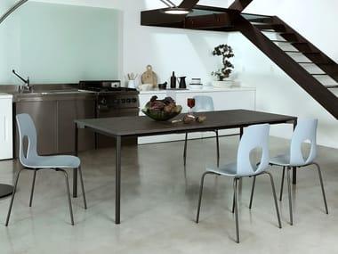 Extending rectangular table EVO