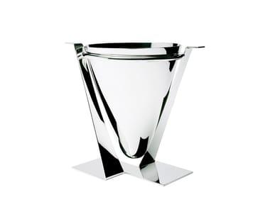 Silver ice bucket EVOLUZIONE