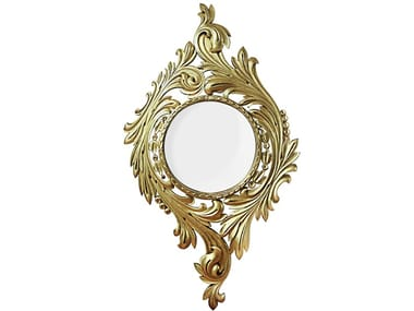 Wall-mounted framed mirror EVORA