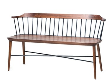 Walnut bench EXCHANGE | Bench