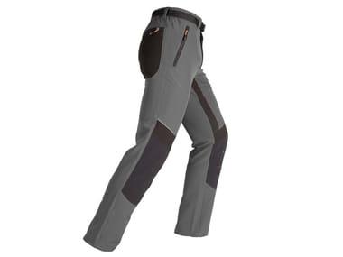 Pantalone elasticizzato slim EXPERT GRIGIO/NERO