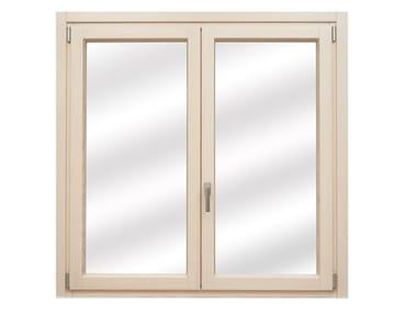 Finestra in legno e alluminio EXQUADRA