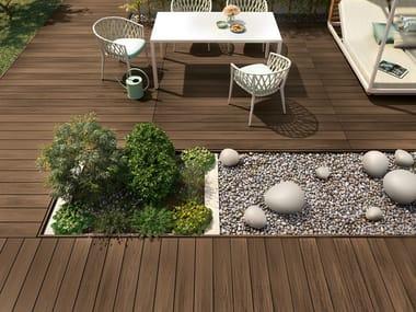 Composite material decking EXTERNO