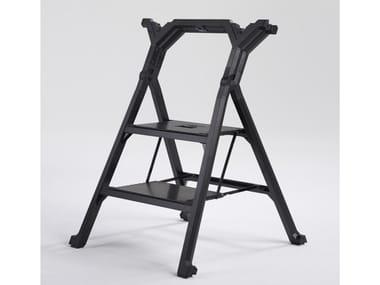 Scaletta pieghevole in alluminio EXTRA