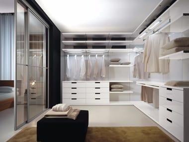 Laminate walk-in wardrobe EXTRA | Walk-in wardrobe