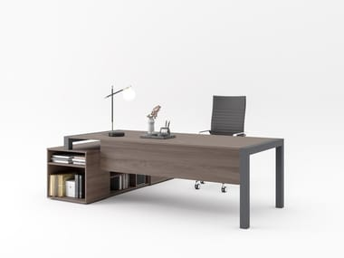 Office desk with shelves EXTRALIGHT   Office desk with shelves