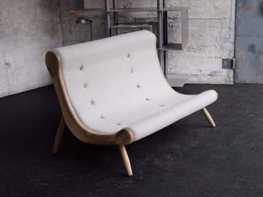 Fabric small sofa EYE | Small sofa