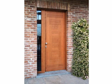 Custom solid wood entry door Entrance doors