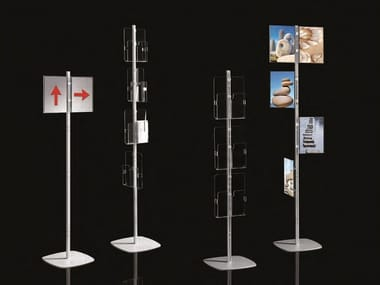 Display unit for brochures ARIANNA TOTEM