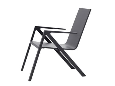 Wooden chair with armrests FÉLIX | Chair
