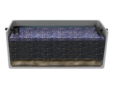 Filtro percolatore anaerobico rettangolare monoblocco F.P.A. | Filtro percolatore rettangolare
