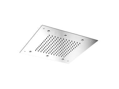 Soffione a soffitto in acciaio inox Harmonia F2901