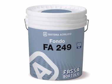Fissativo acrilico all'acqua FA 249