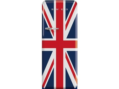 Freestanding single door refrigerator Class A+++ FAB28 UNION JACK