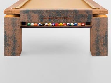 Fabric covered billiard table FABRIC MEMORY