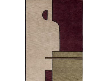Rugs: materials, colors, geometries