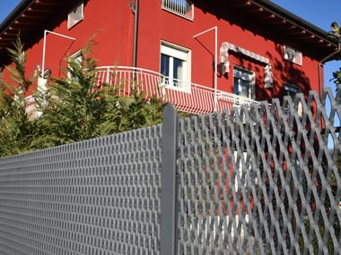 Expanded mesh Fence FACILE