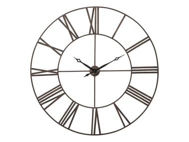 Wall-mounted metal clock FACTORY 120CM