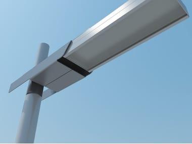 LED Anodized aluminium street lamp FALCO