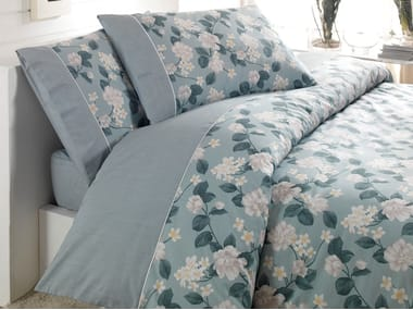 Coolmax® bed sheet with floral pattern FANTASIA