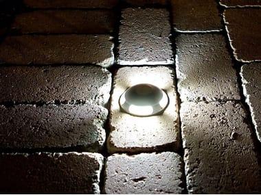 Segnapasso a LED a pavimento in alluminio per esterni FARETTI STREET LIGHT