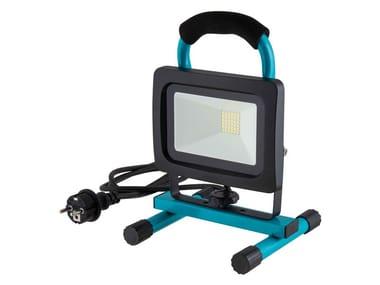 Illuminazione da cantiere FARETTO LED PORTATILE 30W