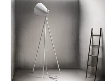 Adjustable floor lamp with dimmer FARO NEXT