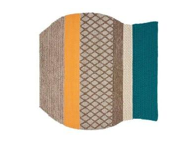 Striped wool rug FAROL