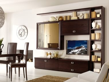 Sectional ash storage wall FASHION TIME   Composizione 1