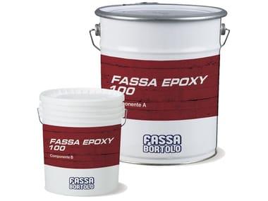 Masonry consolidation FASSA EPOXY 100