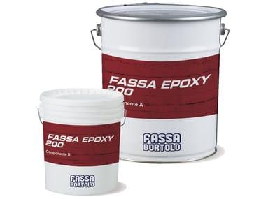 Materiale composito per rinforzo strutturale FASSA EPOXY 200