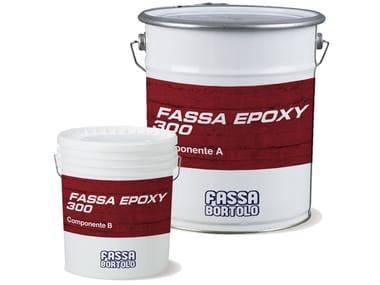 Resina epossidica per riprese di getto strutturali FASSA EPOXY 300