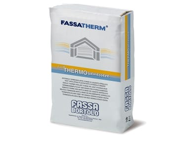 Thermal insulating plasters
