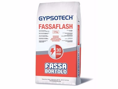 Gypsum and decorative plaster FASSAFLASH