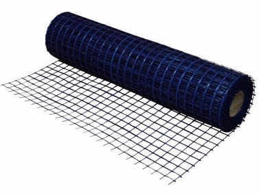 Mesh for base layers for floorings