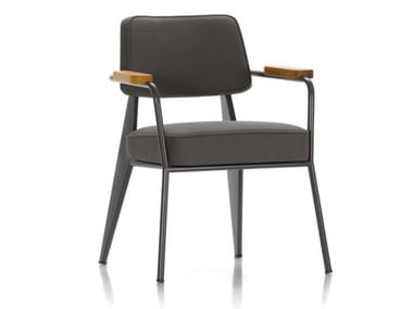Upholstered easy chair with armrests FAUTEUIL DIRECTION