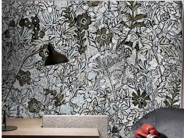 Tropical wallpaper, eco-friendly, PVC free and washable FAUVES