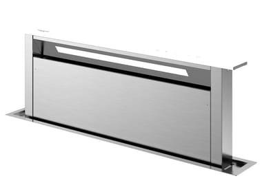 Slide-out stainless steel downdraft with touch controls FDDH 900 TRC | Cooker hood