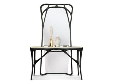 Freestanding rectangular framed ash mirror FEBE | Mirror