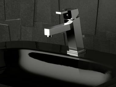Washbasin tap with automatic pop-up waste FEBO Q | Washbasin mixer