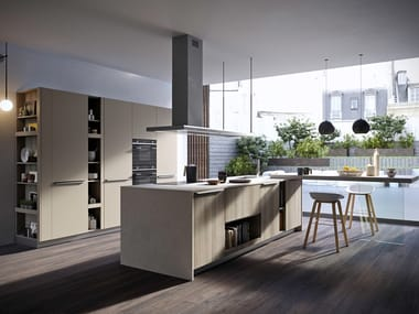 Wooden fitted kitchen FEEL | Kitchen