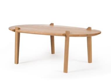 Solid wood coffee table FENDA