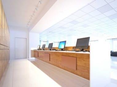 Radiatore a parete o soffitto a infrarossi lontani lontani FENICE