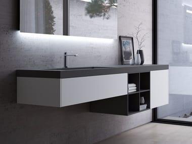 plans de toilette meubles et eclairage pour salle de. Black Bedroom Furniture Sets. Home Design Ideas