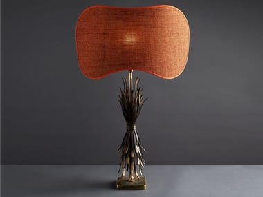 Indirect light iron table lamp FETTUCCE | Table lamp