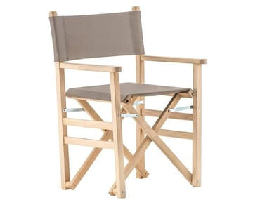 Sedia da giardino in legno DIRECTOR IN ROBINIA