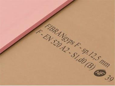 plaques de pl tre fibran archiproducts. Black Bedroom Furniture Sets. Home Design Ideas